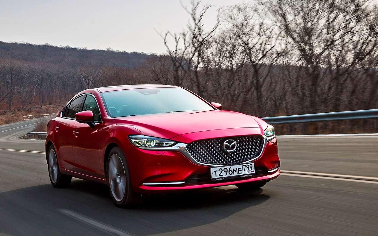 Новая Mazda 6: как она насамом деле едет— фото 950792