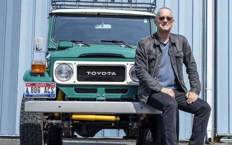 ТомХэнкс продает странный Toyota Land Cruiser