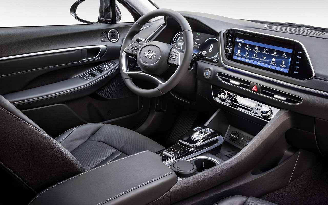Новая Hyundai Sonata дляРоссии: тест-драйв— фото 1029583