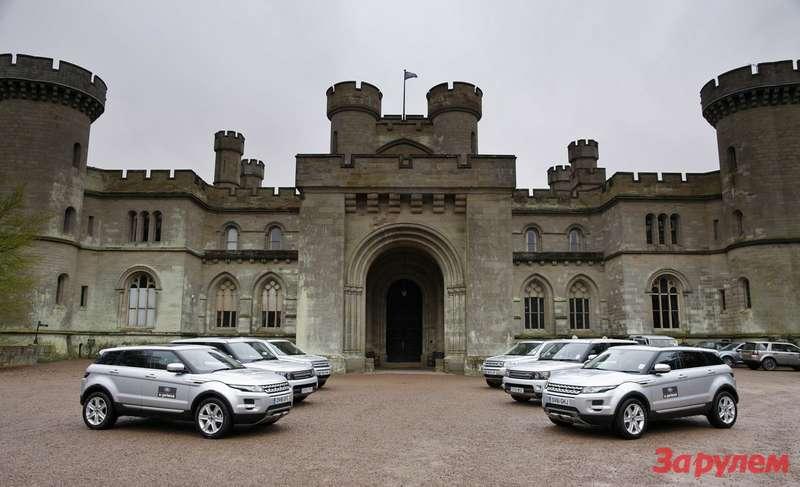 Замок Eastnor