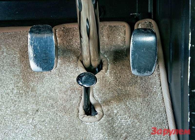Вотэта изящная кнопка посредине иесть педаль газа!