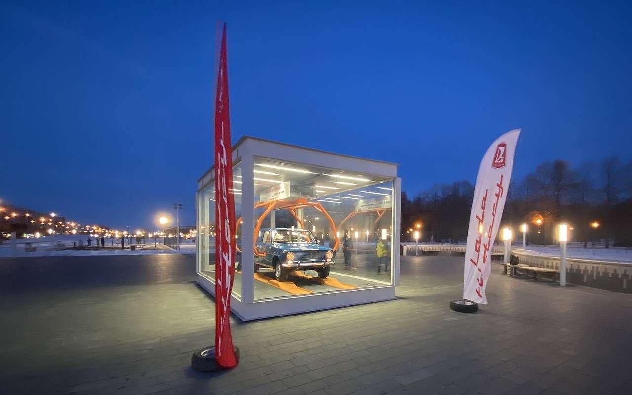 Автомобилю ВАЗ-2101 поставили памятник— фото 1210815