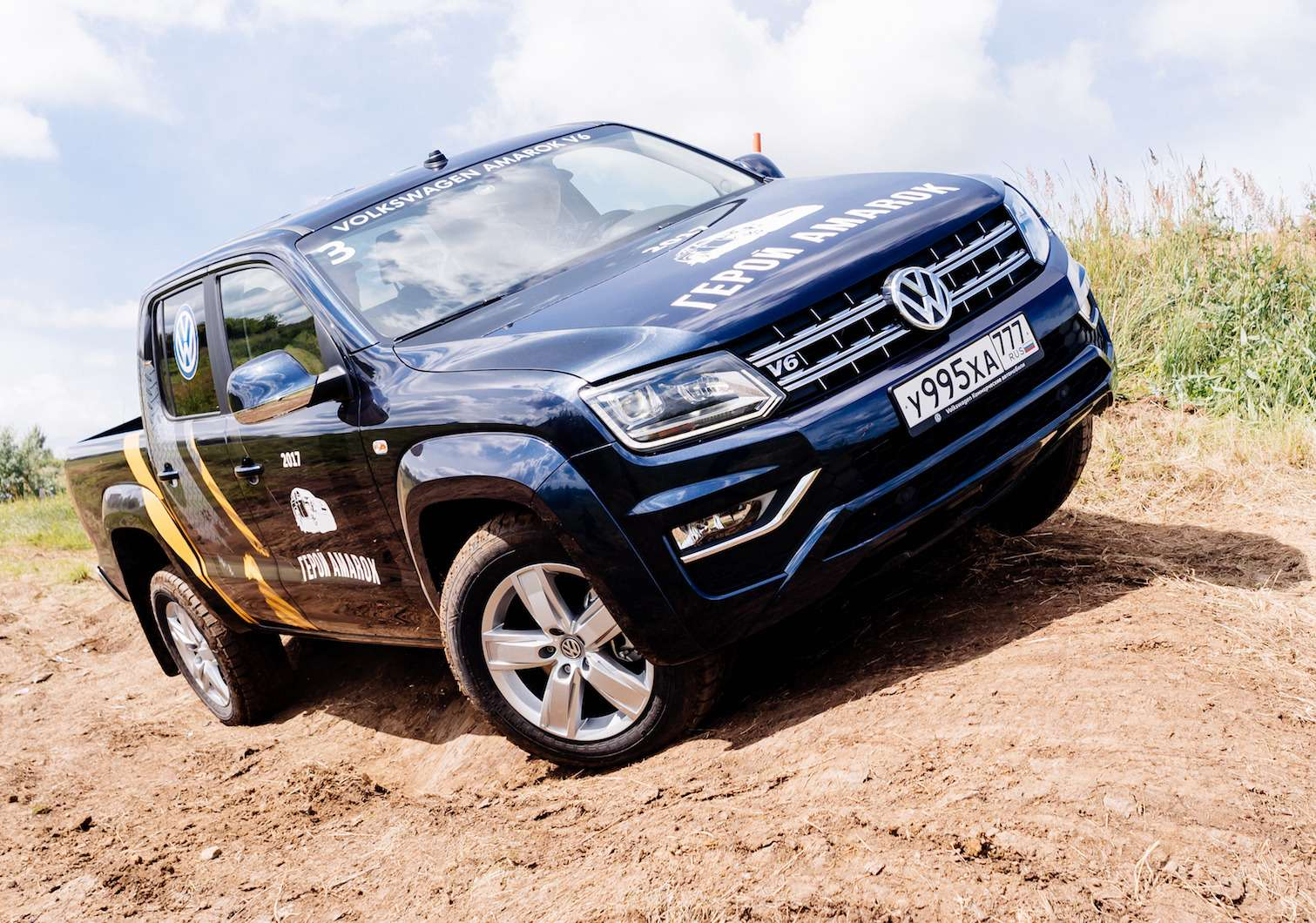 Volkswagen Amarok V6TDI— царь горы— фото 776577