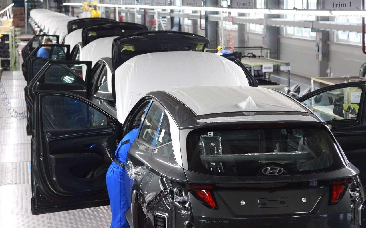 Стартовала российская сборка нового Hyundai Tucson— фото 1251167