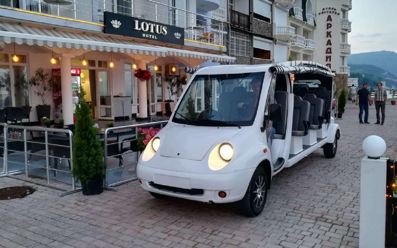 В Крыму начинают серийный выпуск электромобилей изроссийских компонентов— фото 1130183
