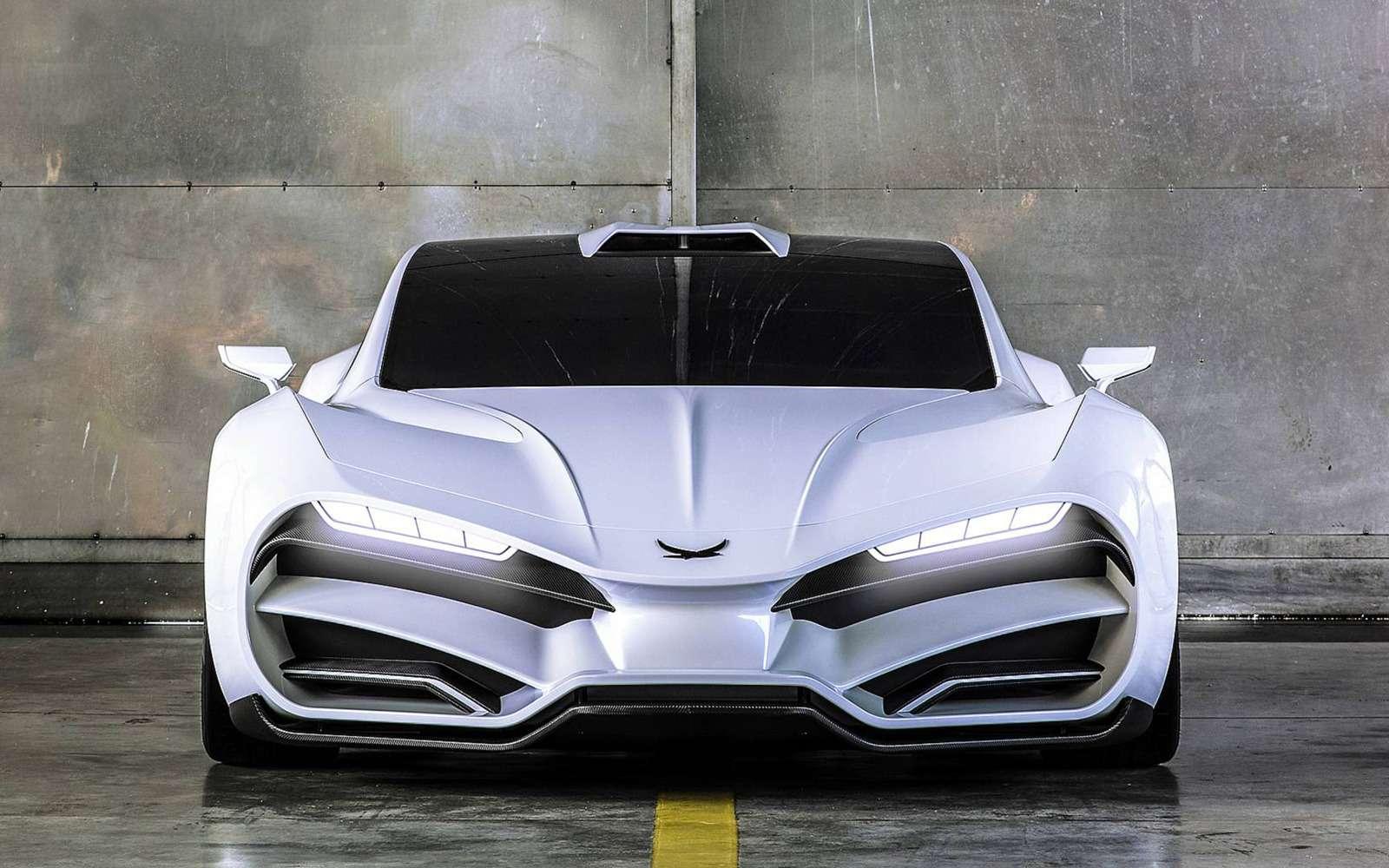 Такой могла быть Лада! ВАвстрии сделали суперкар срусским дизайном— фото 891672