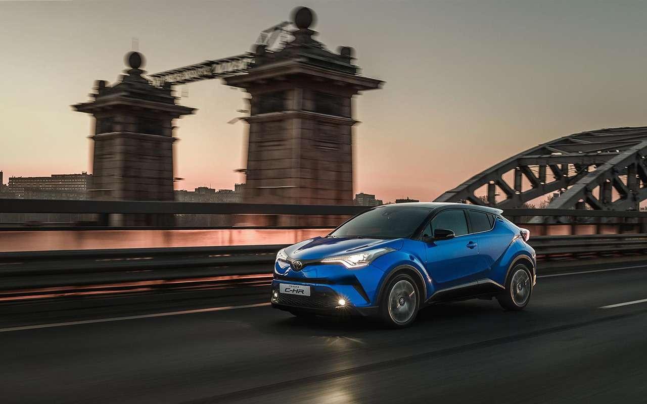Toyota C-HR: известны цены идата продаж вРоссии— фото 873573