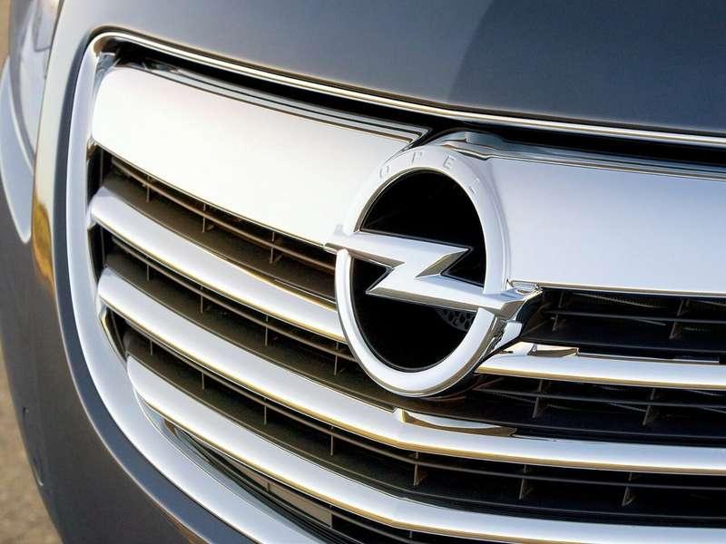 no copyright Opel Logo gril