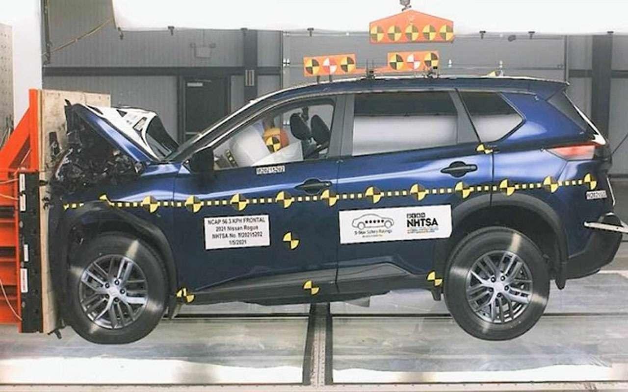 Новый Nissan X-Trail накраш-тесте: пассажиру плохо!— фото 1225221