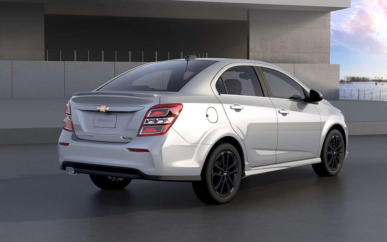 9 крутых моделей Chevrolet, которых некупить вРоссии— фото 904289