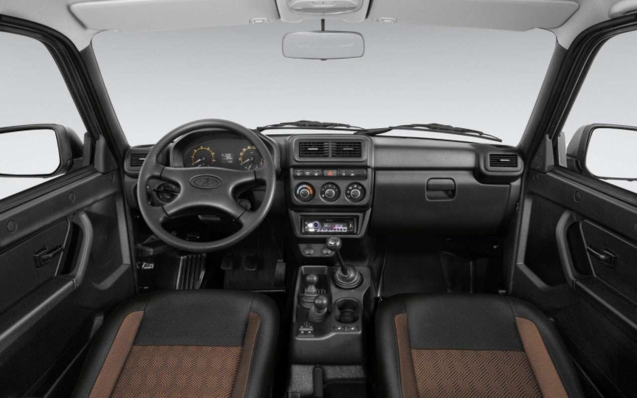 Обновленная Lada 4х4 поступила впродажу— цены известны— фото 1058297