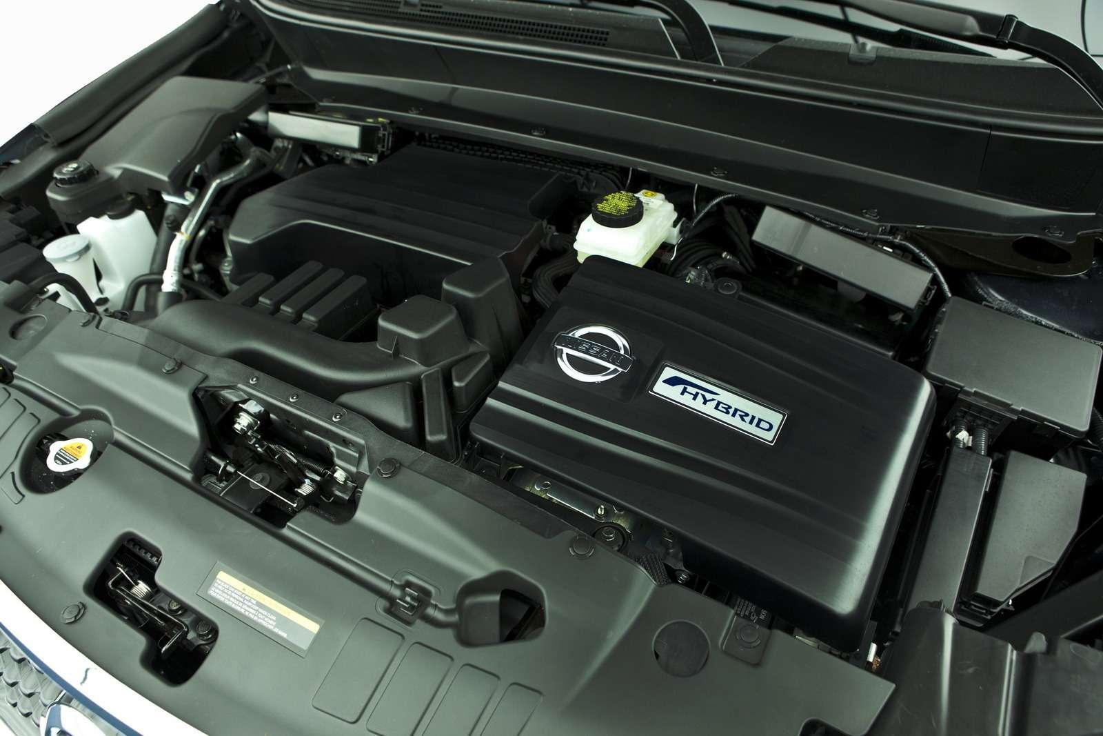 2014 Nissan Pathfinder Hybrid Offers 26MPG Combined Fuel Econom