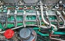 У Volvo нагазу работает  13-литровый дизель