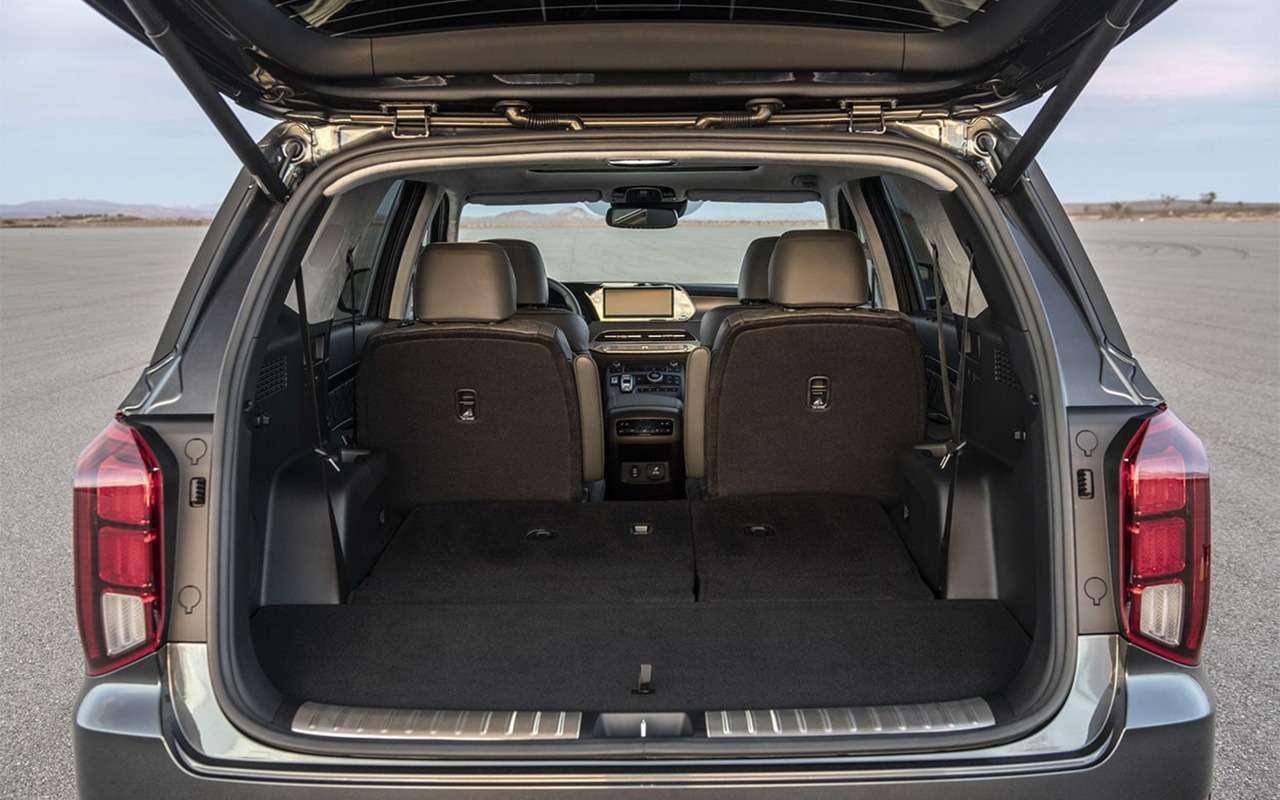 Кроссовер Hyundai Palisade вЛос-Анджелесе: больше некуда— фото 929611