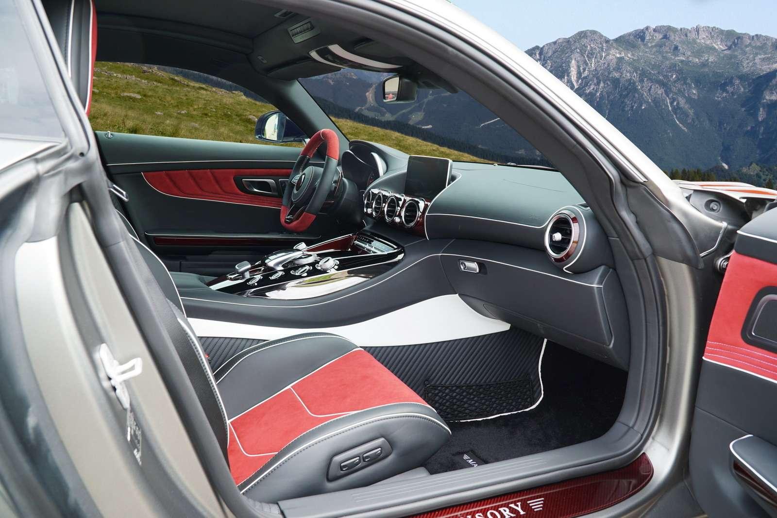 Окрыленный яростью: заряженный Mercedes-AMG GTSрвется вбой— фото 599201