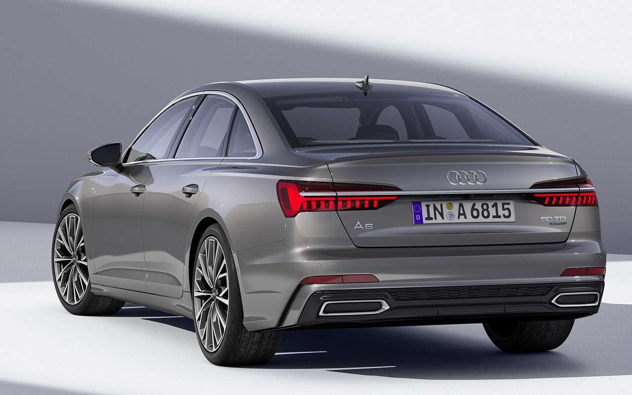 Новый Audi A6: что онвзял устарших?— фото 859131