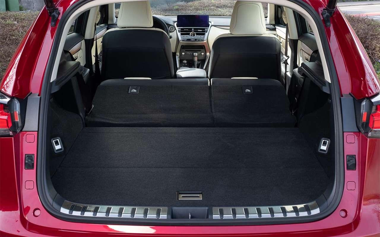 Обновленный Lexus NX— первый тест-драйв— фото 864449
