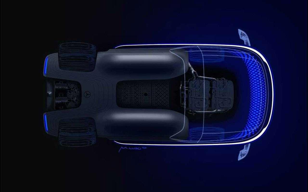 Новая необычная модель Mercedes: первое фото— фото 1167591