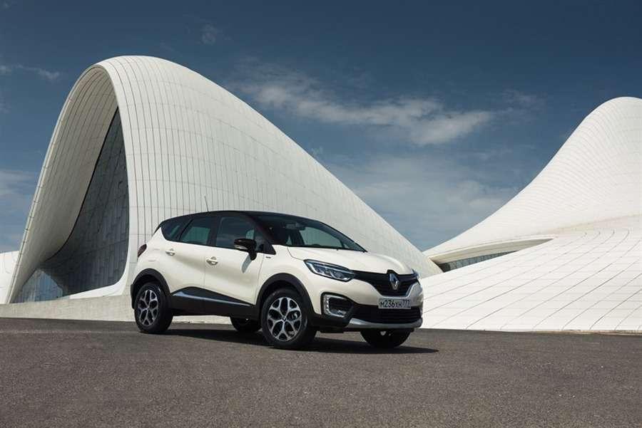 «Экстремальный» Renault Kaptur уже всалонах удилеров— фото 795177