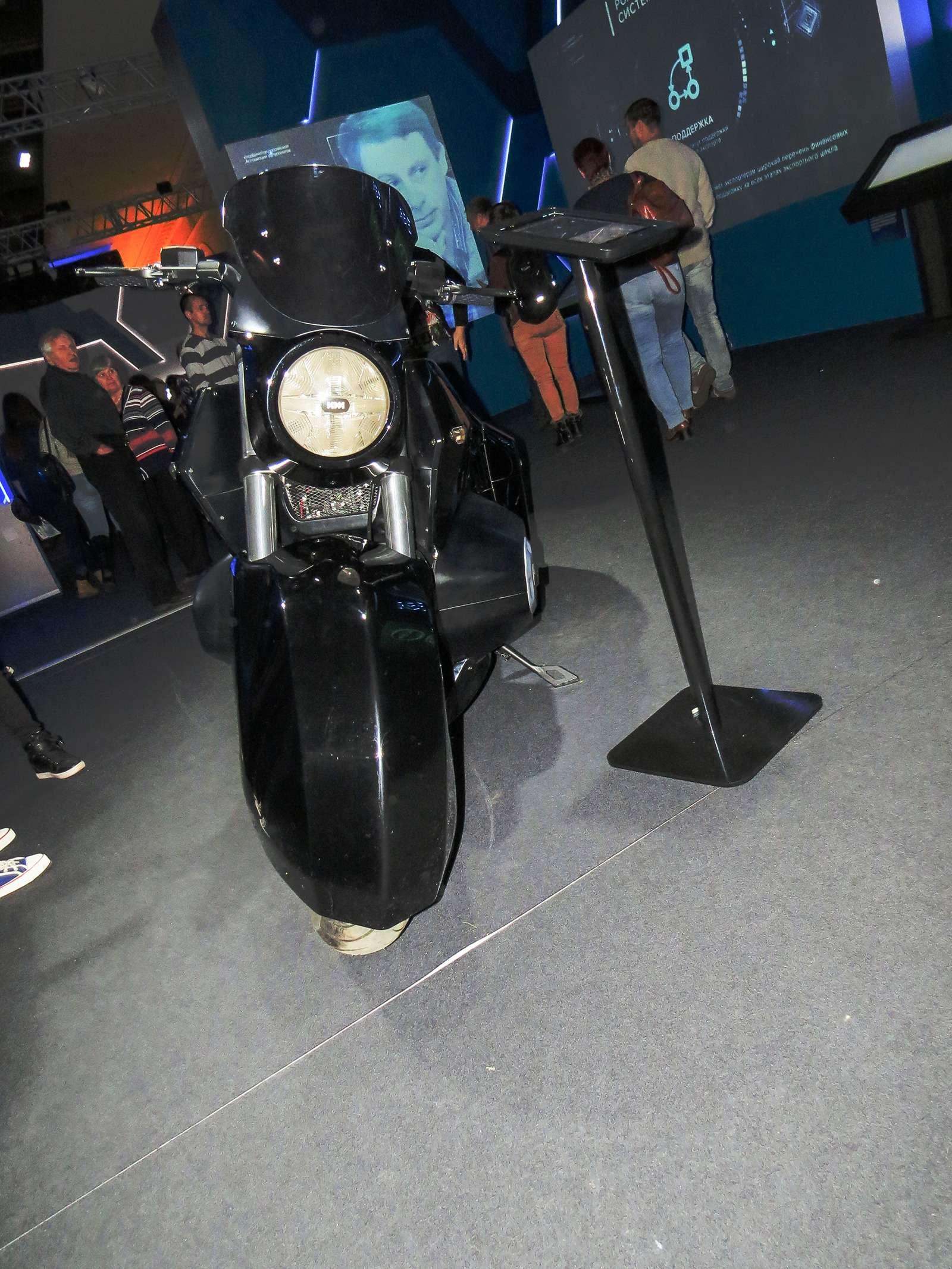 Тяжелый мотоцикл