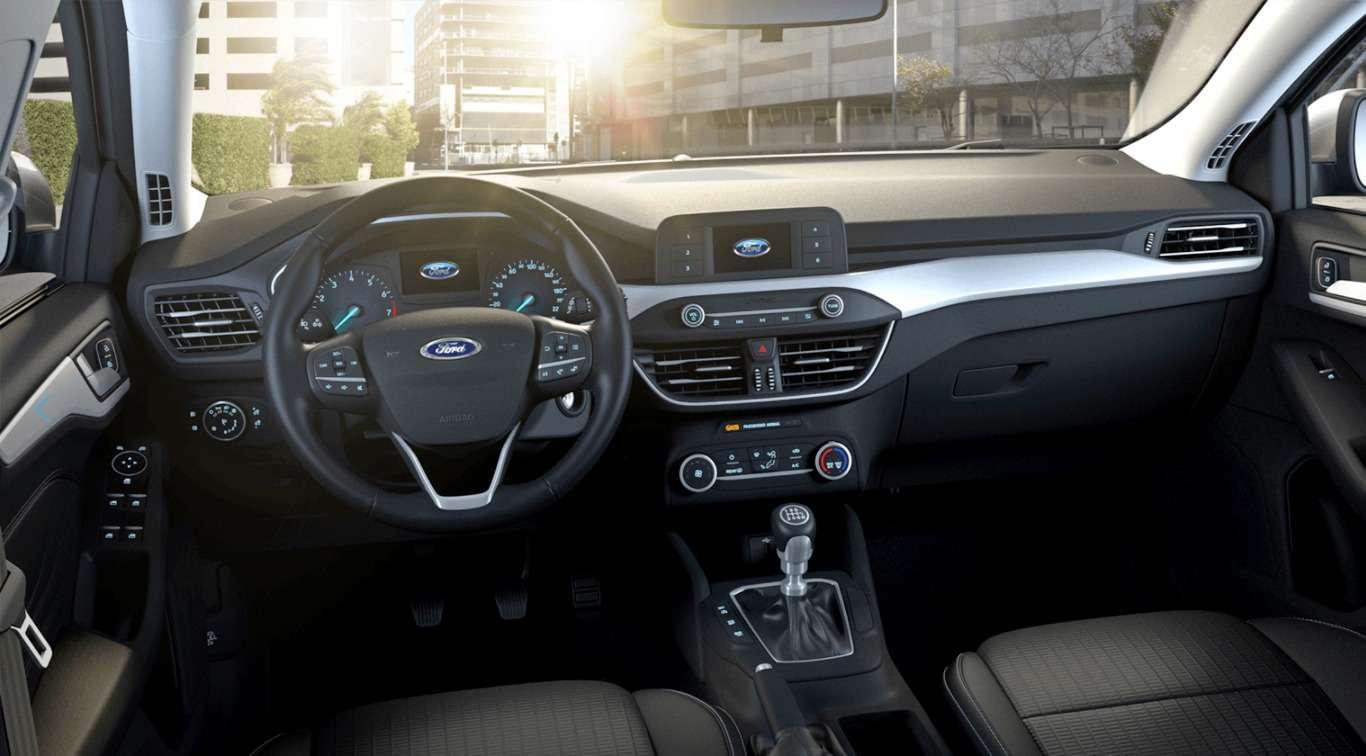 Голый, нонесмешной: новый Ford Focus вбазовых версиях— фото 862241