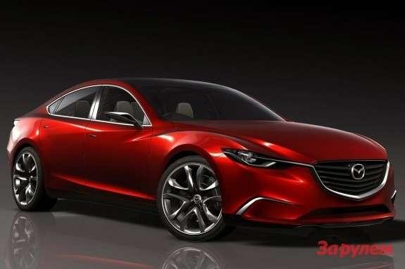 Mazda Takeri Concept side-front view
