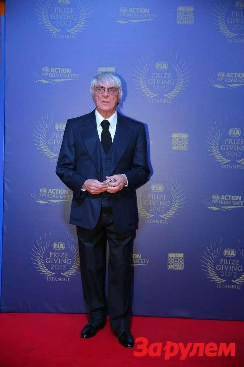 Берни Экклстоун, FIA Prize Giving Gala 2012