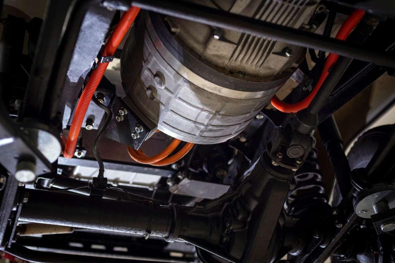 Новая версия УАЗ Хантер— электрическая! Ноне вРоссии— фото 1087867