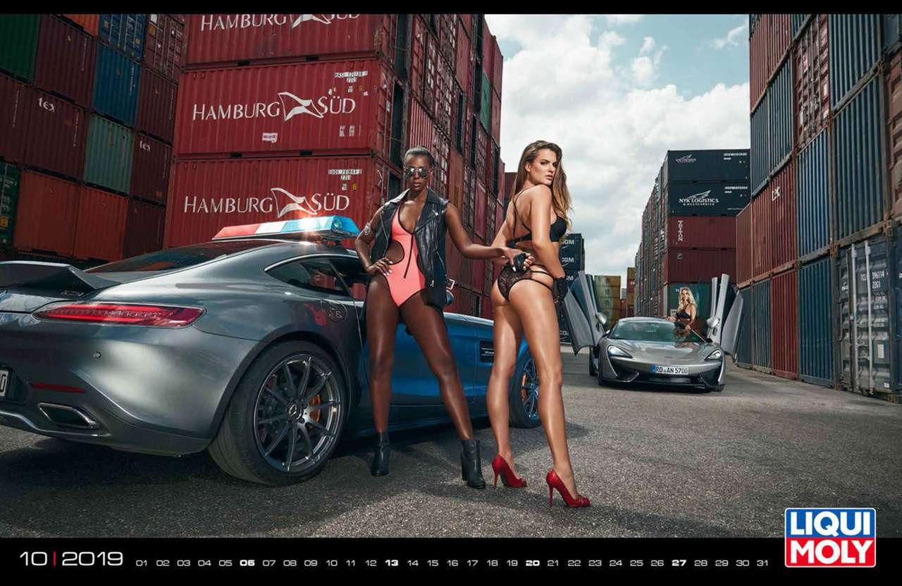 Девушки игорячие спорткары: Liqui Moly показала новый календарь— фото 904954