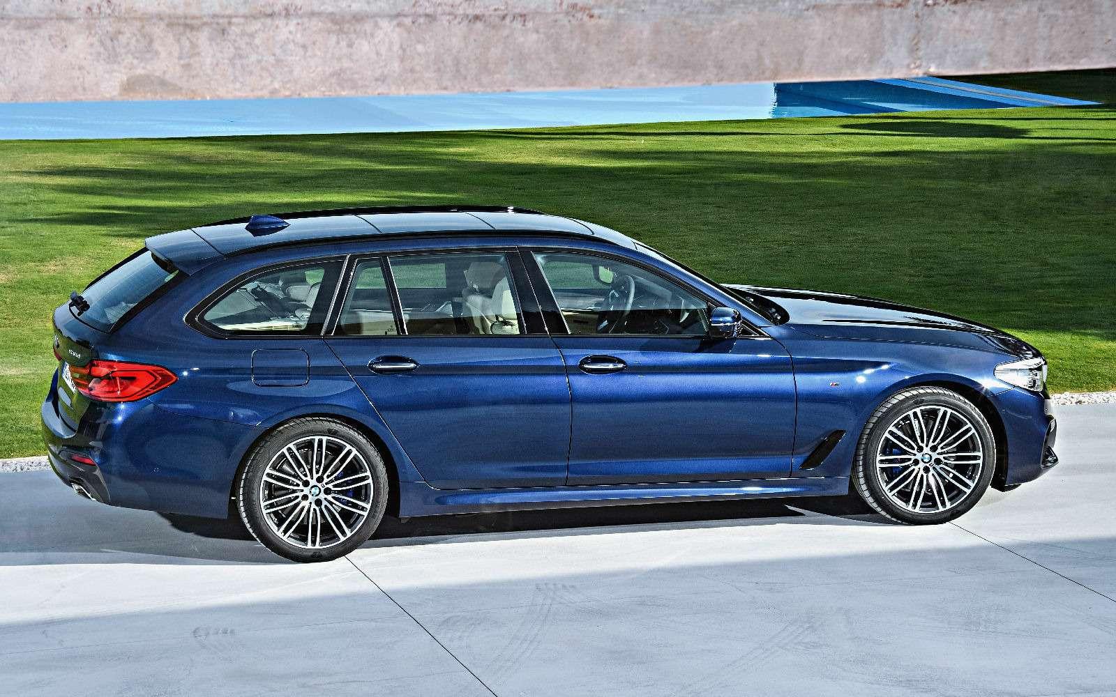 Новая «пятерка» BMW— теперь искузовом универсал— фото 701196