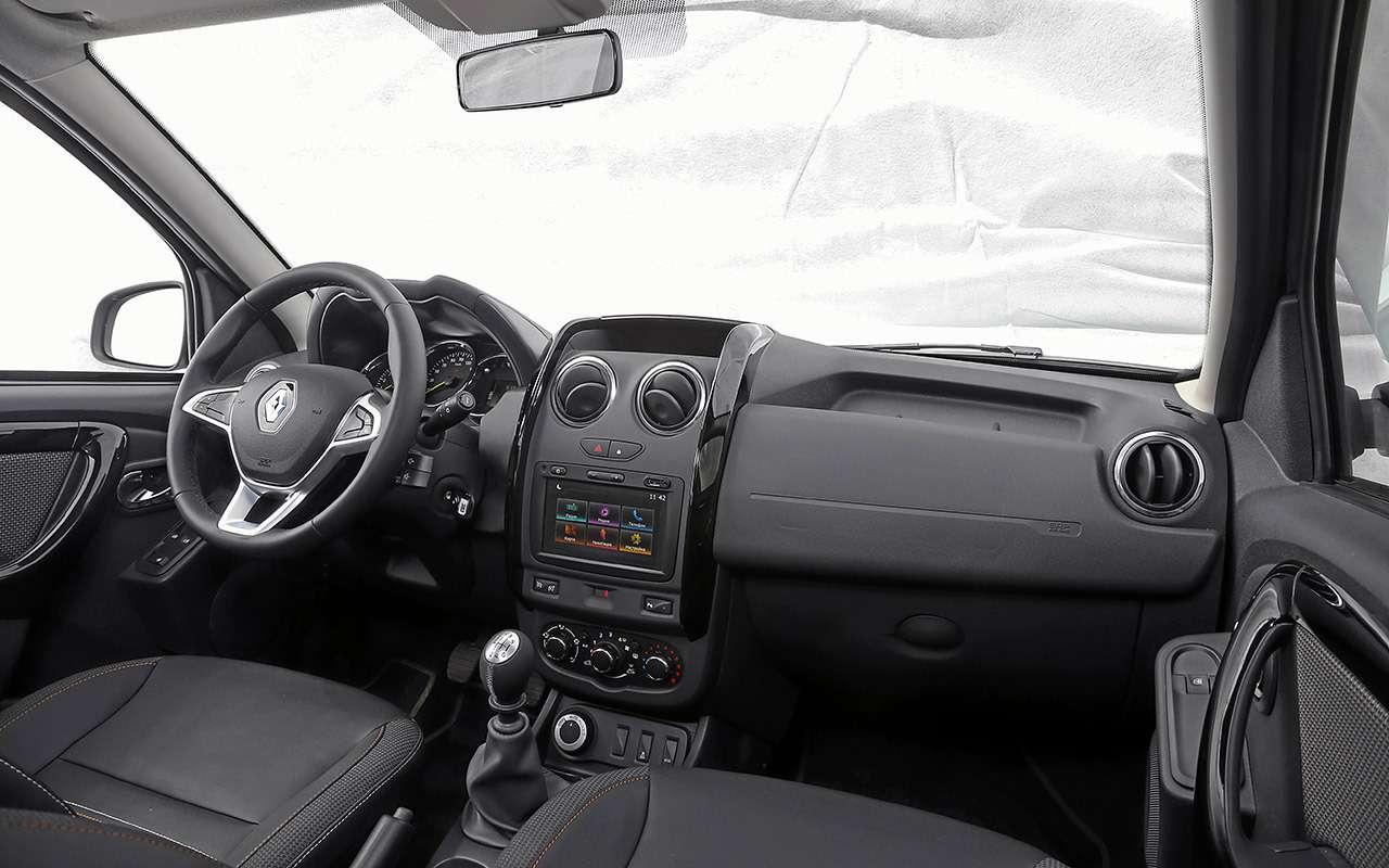 Renault Duster— тест-драйв новой версии— фото 976306