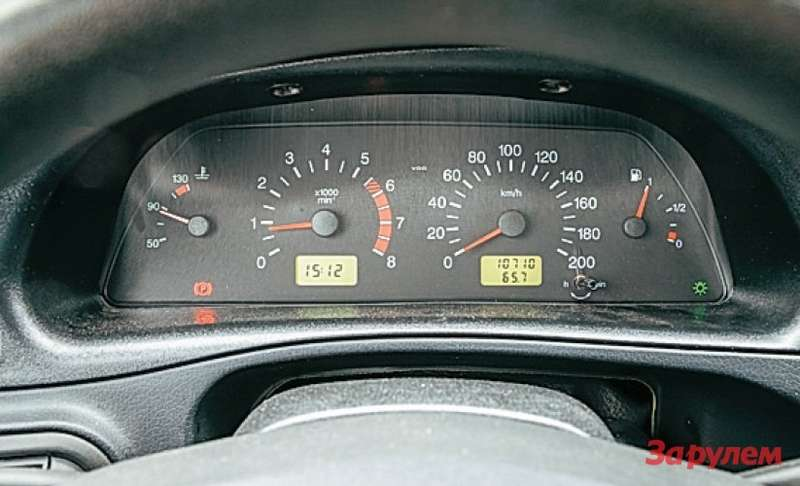 Chevrolet Niva Приборы от«десятки». Сказать, что они уродливы или неинформативны, яне могу.