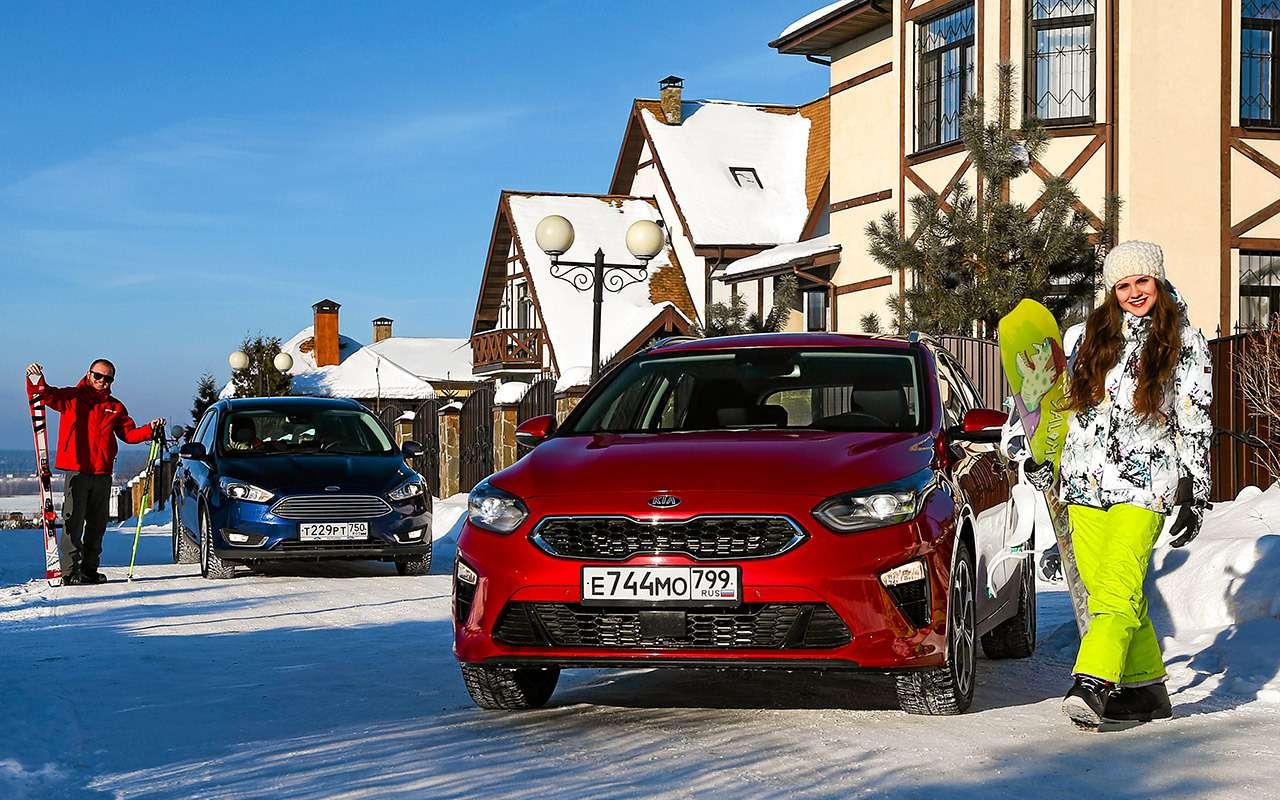 Большой тест универсалов: Ford против Kia— фото 959169