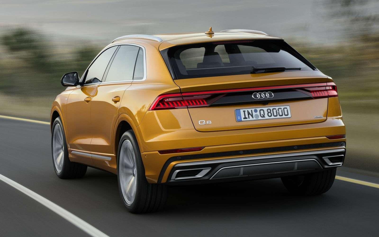 Встречаем Audi Q8: хай-тек плюс ностальгия по80-м— фото 876433