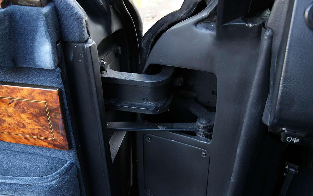 Бронированный лимузин Горбачева иЕльцина— как его строили— фото 1144866