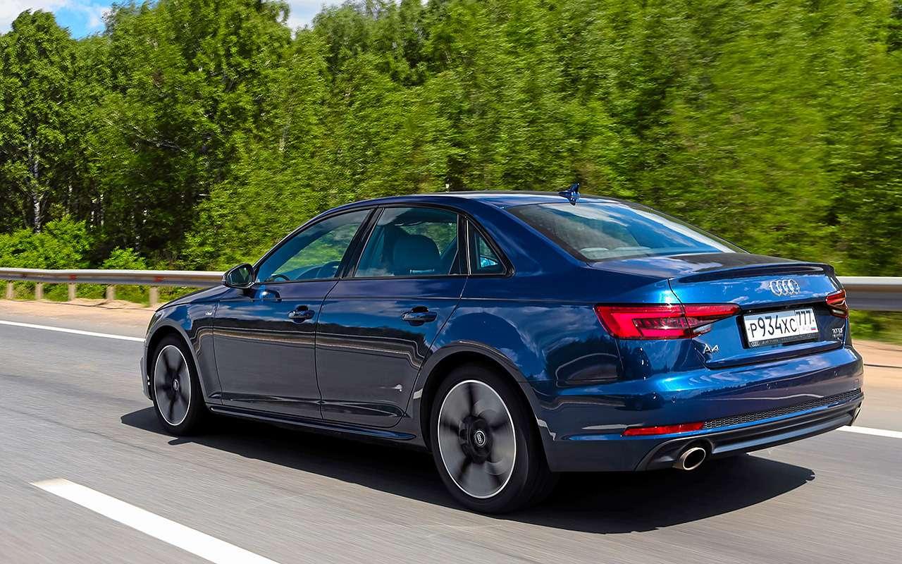 Genesis G70 против Audi A4и Jaguar XE— большой тест— фото 894675