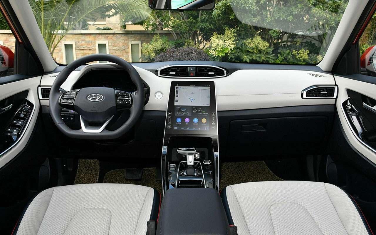 Мировая премьера новой Hyundai Creta— упрощенный вариант— фото 1081847