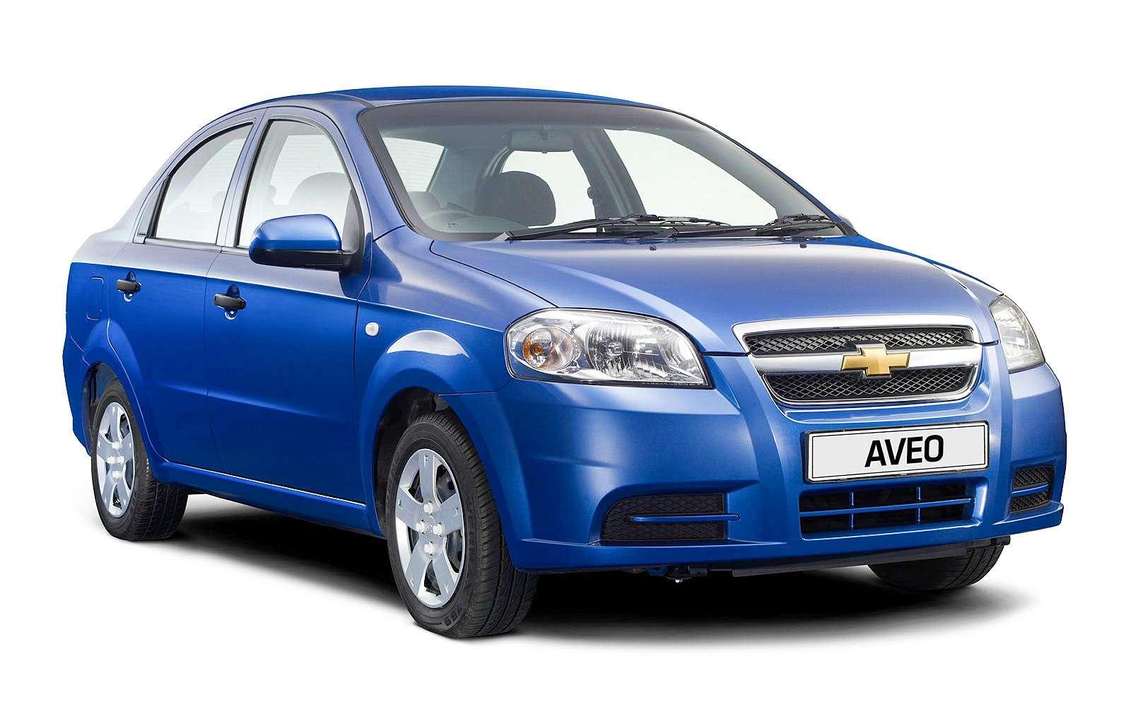 Седан Chevrolet Aveo T250