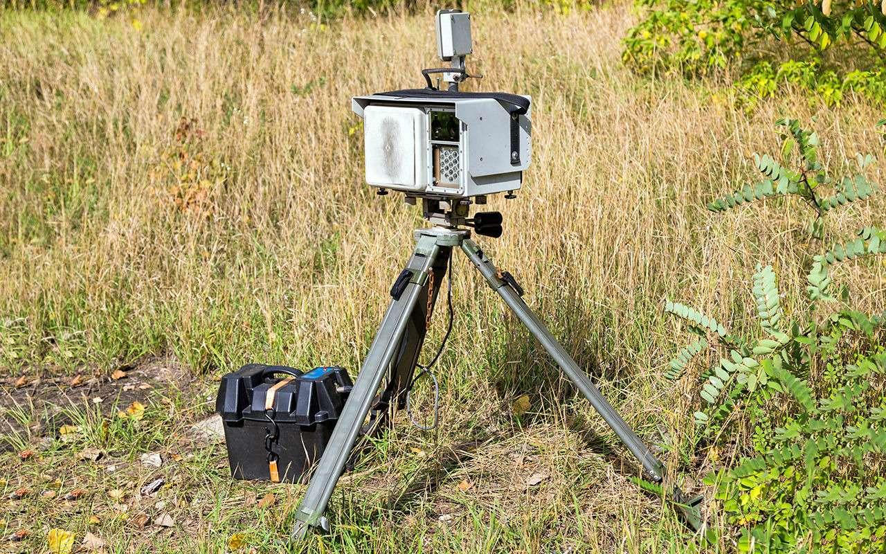 5 заблуждений о мобильных камерах ГИБДД