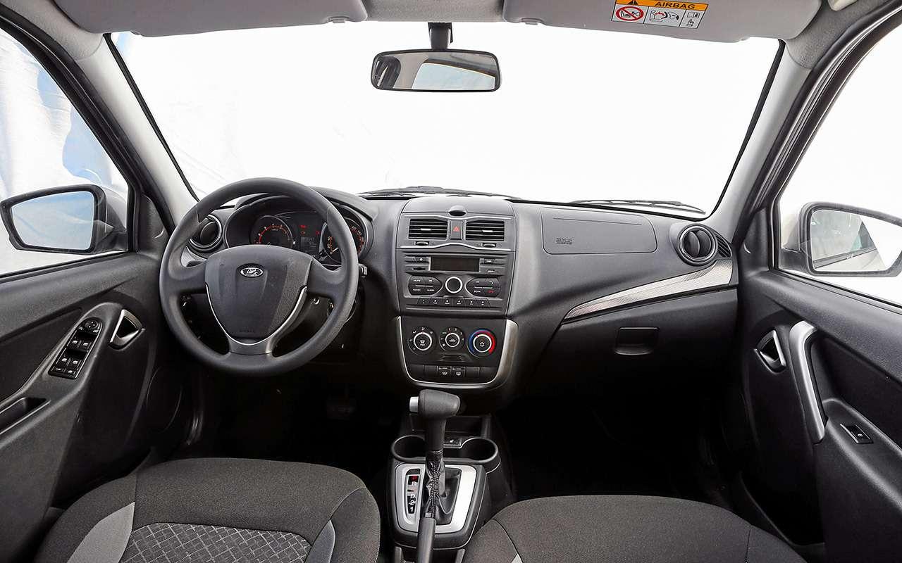 Большой тест обновленных бюджетников: Лада Гранта против Renault Logan— фото 914239