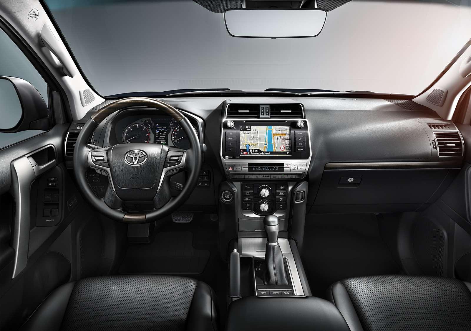 Обновленный Toyota Land Cruiser Prado— все изменения— фото 793408