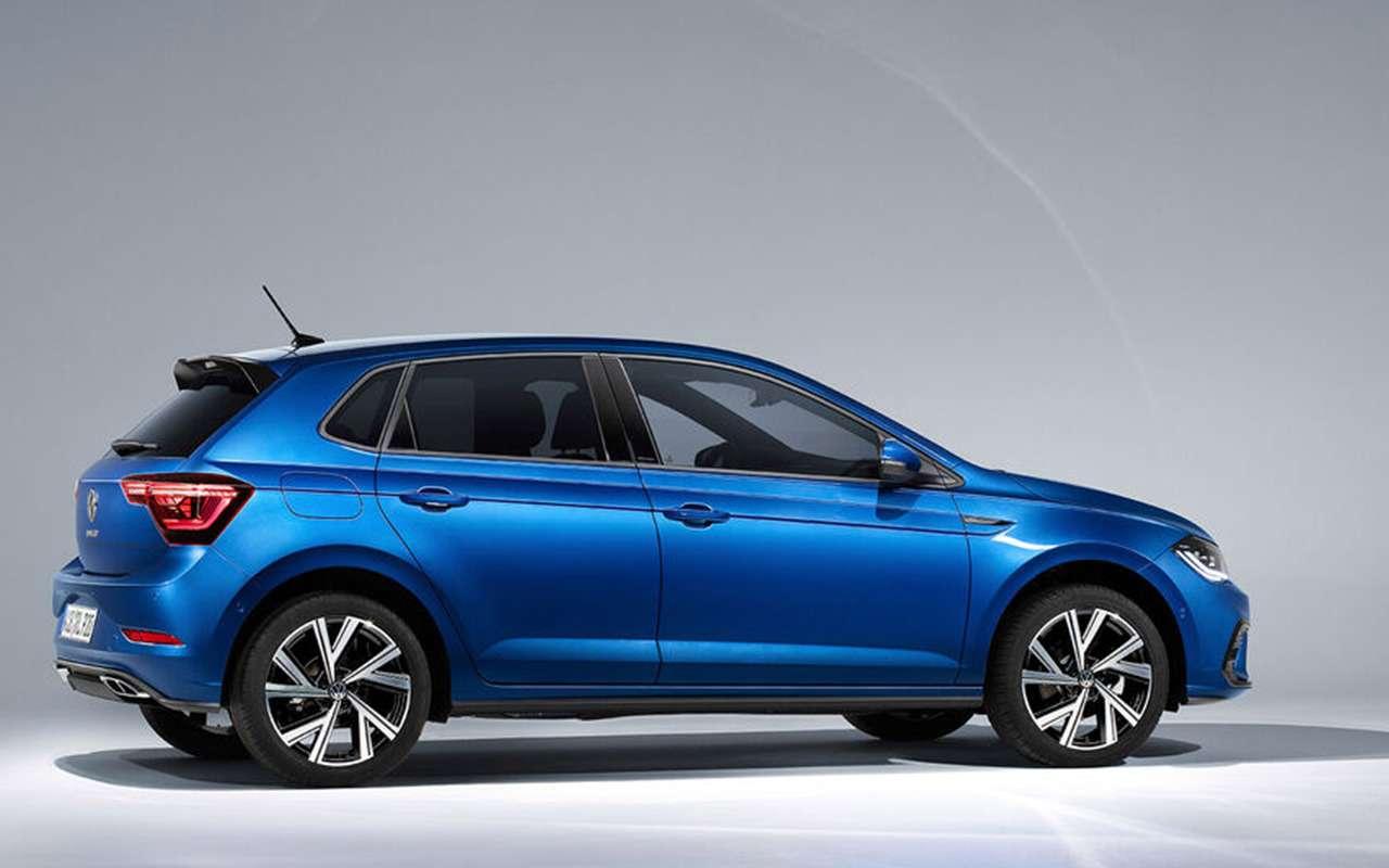 VWпоказал обновленный Polo: это жемини-Golf!— фото 1241878