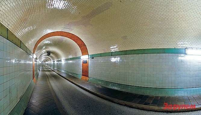 Старый туннель подЭльбой