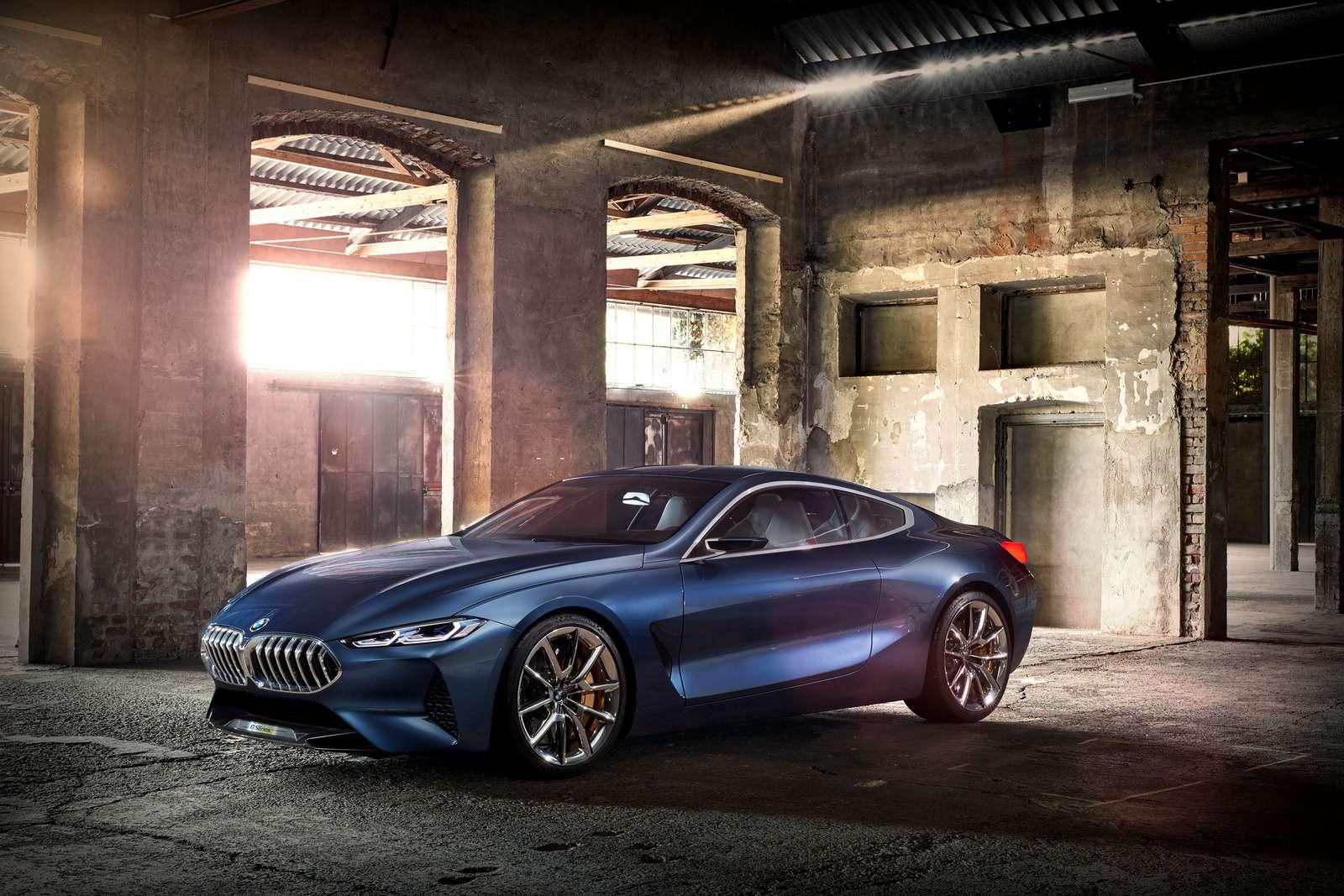 Великолепная «восьмерка»: новое купе BMW— теперь скристаллами!— фото 756643