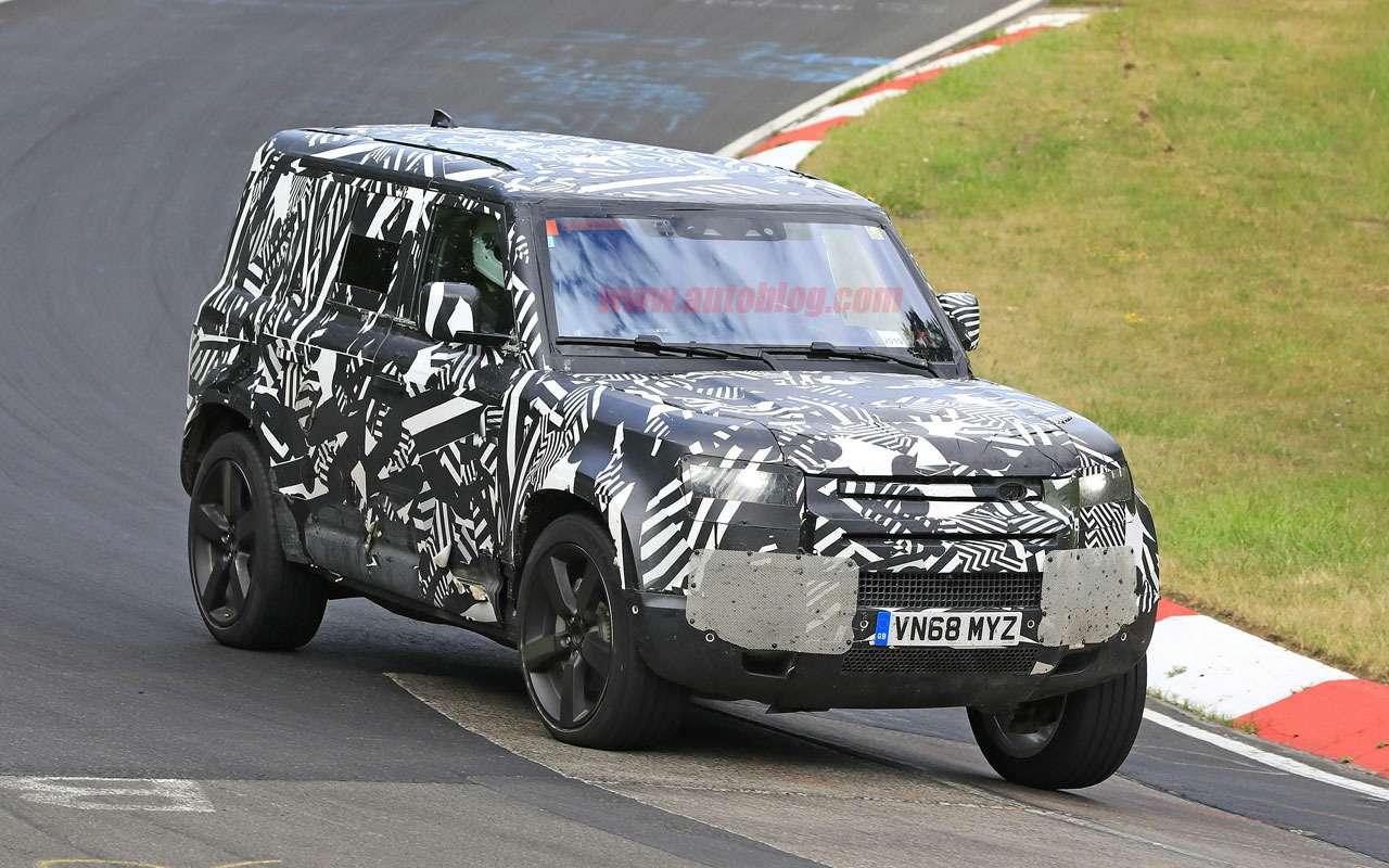 Land Rover Defender получит три версии кузова— фото 984214