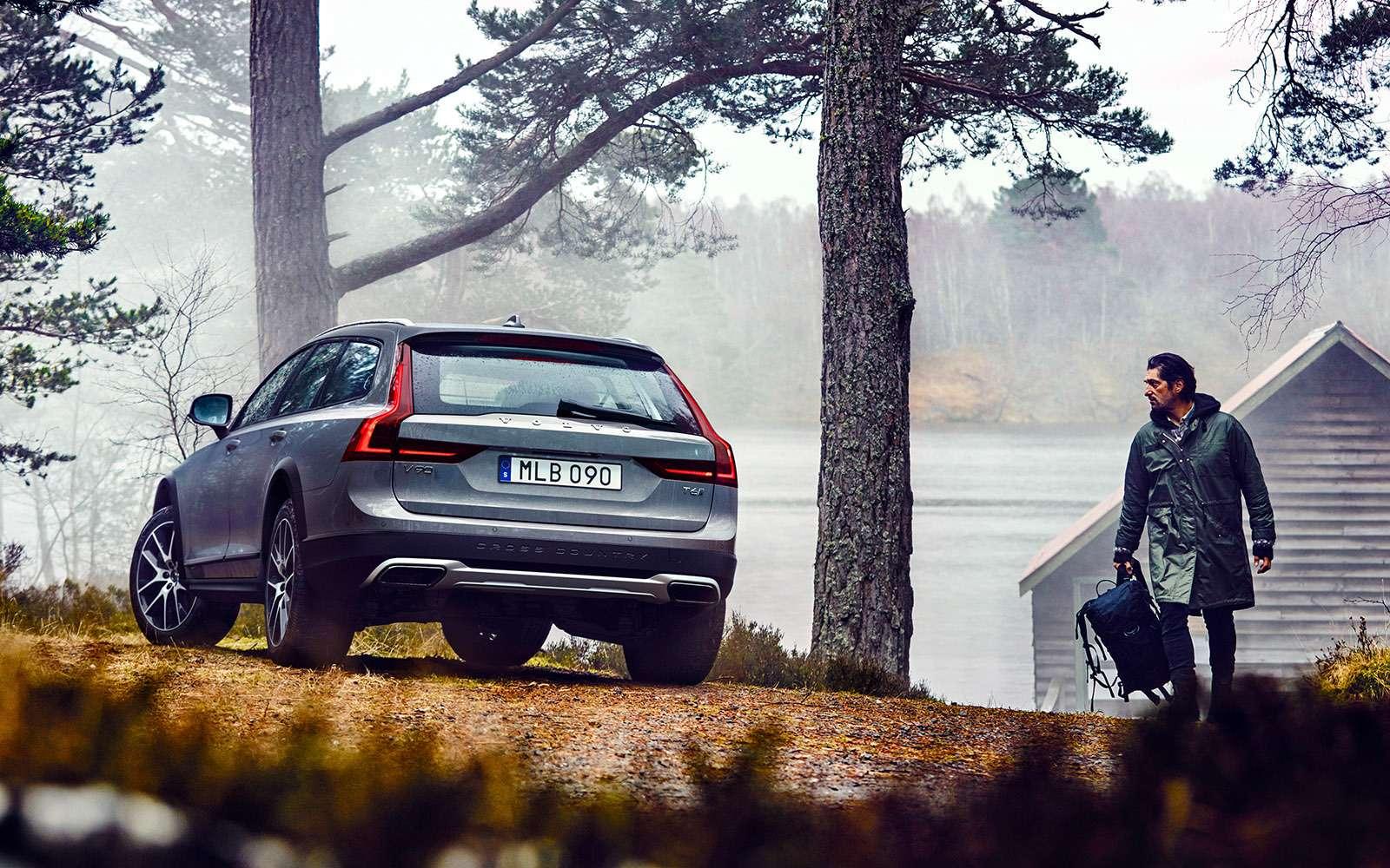 Новый Volvo V90 Cross Country: не чемодан!— фото 654910