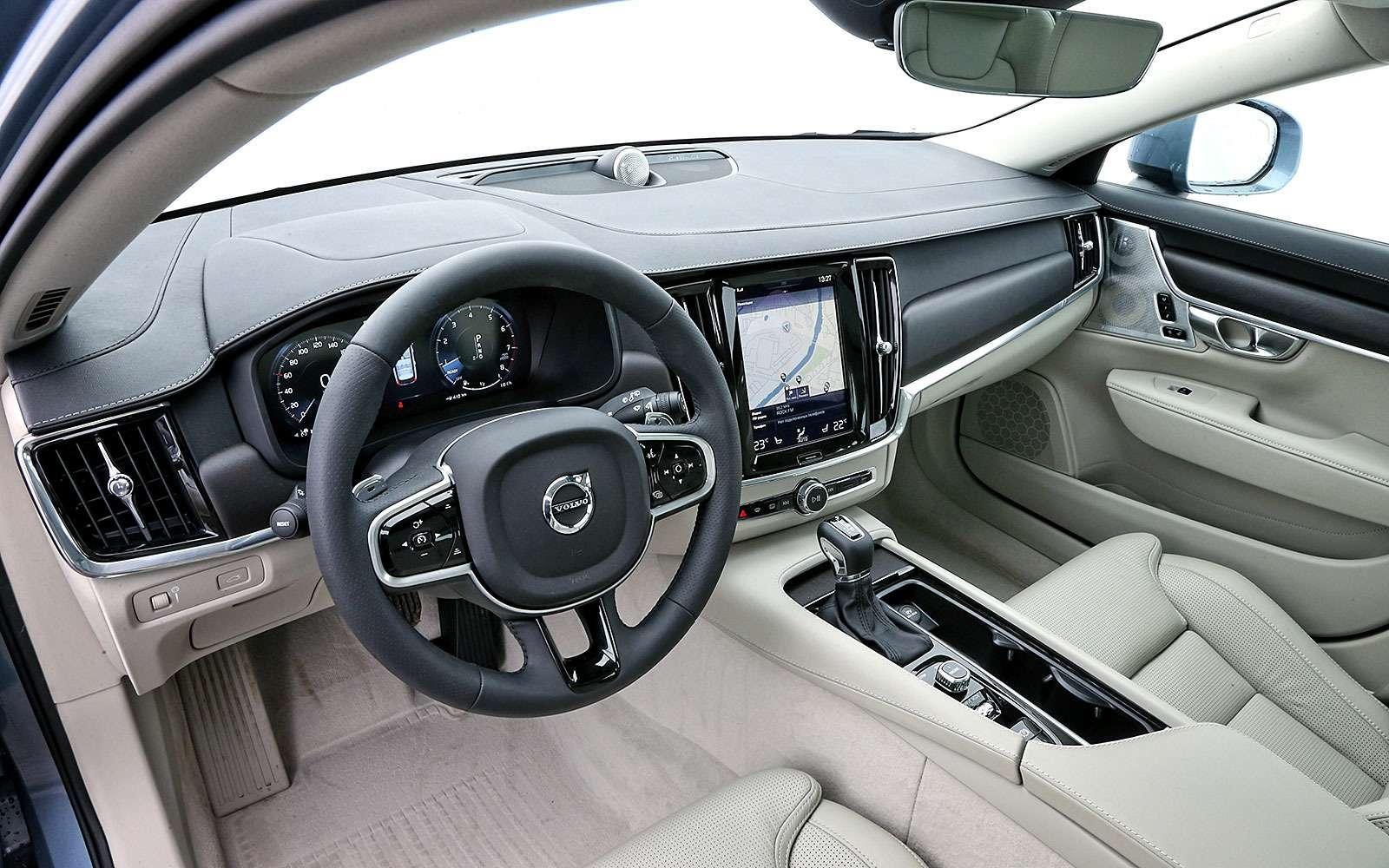 Тест-драйв Volvo V90 Cross Country— хорошо, нодорого— фото 764610