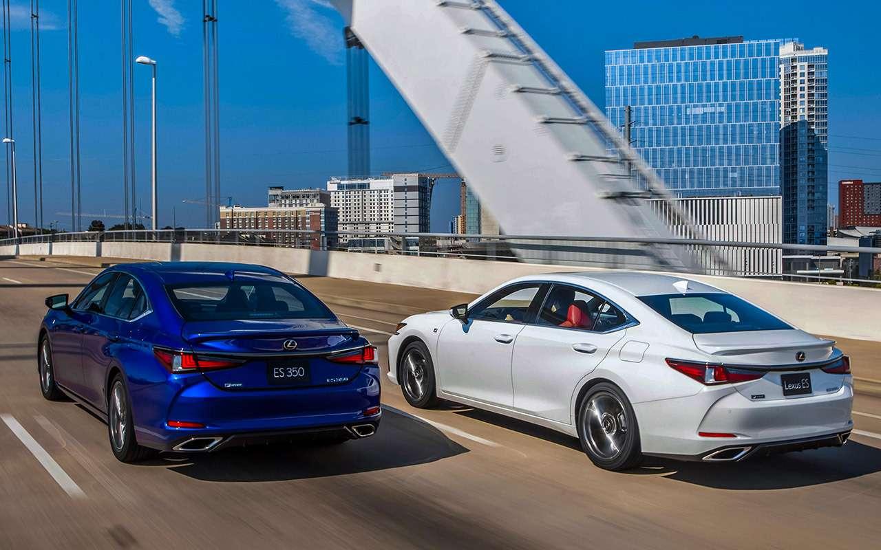 Новый Lexus ES— тест самых «вкусных» модификаций— фото 892655