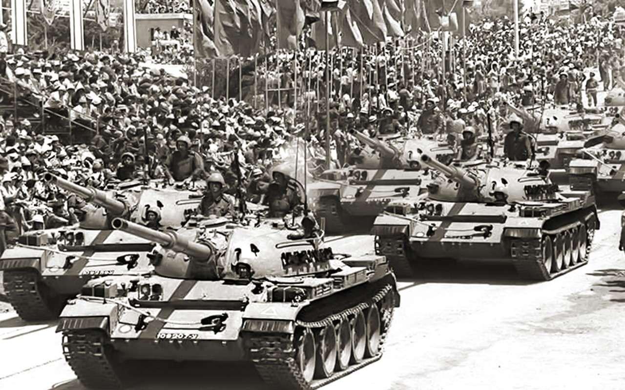 Советский танк Т-55— как онстал рабочей лошадкой третьего мира— фото 989105