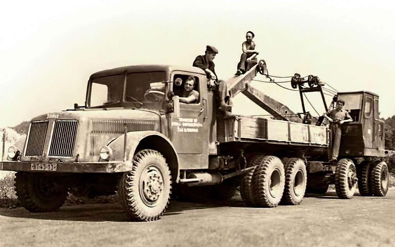 Самые доступные иномарки вСССР— грузовики, конечно!— фото 1209189